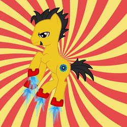 Avenger Ponies- Tony