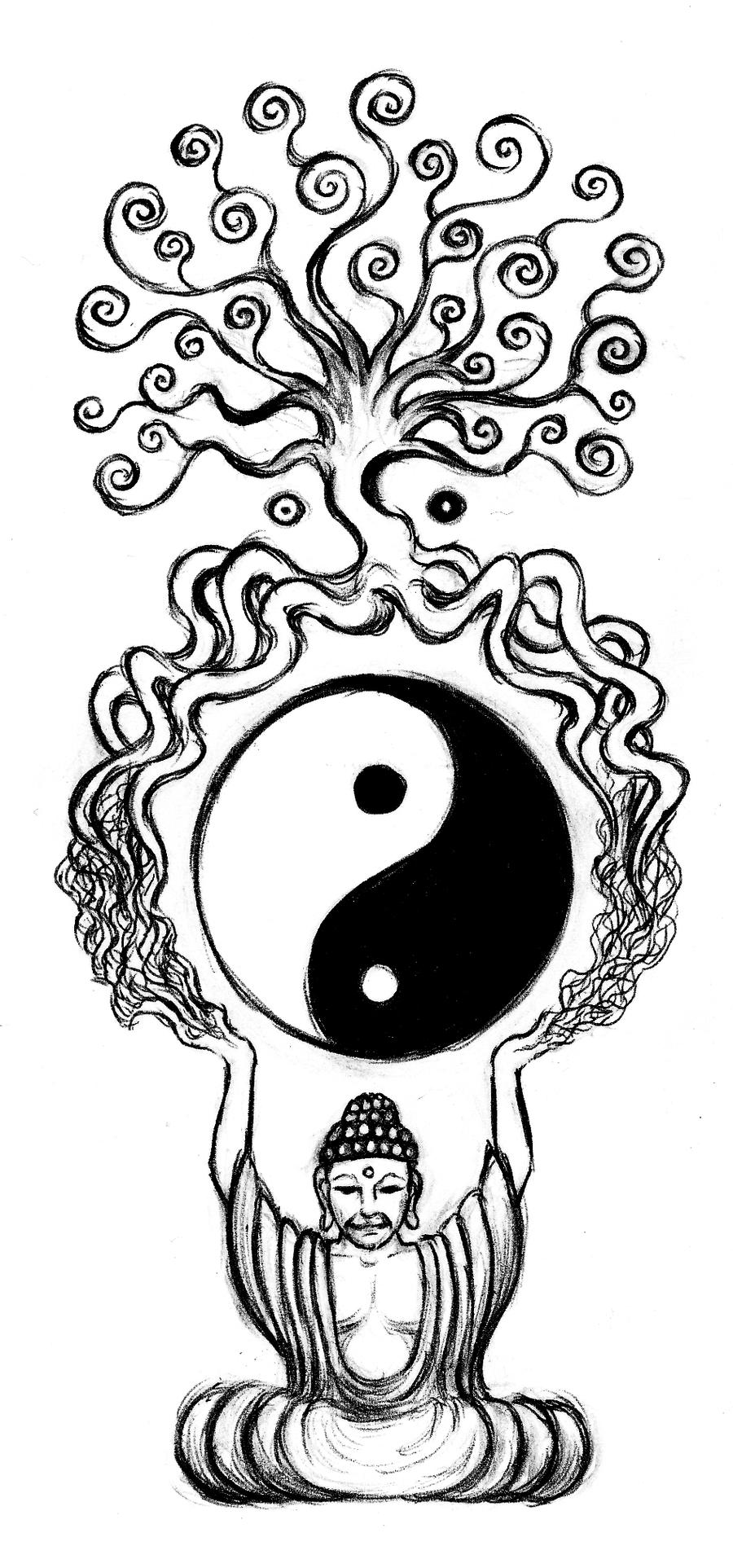 Buddha And The Tree Of Life By Aqvalung On DeviantArt