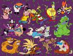90s Cartoon Poster