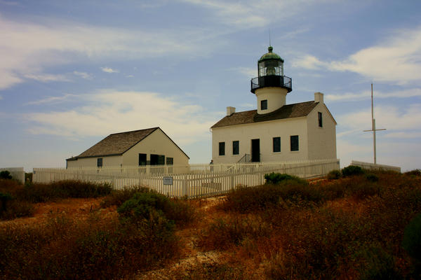 Old Point Loma Lighthouse by dale427