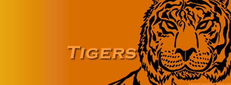 Tigers Banner 5 by FantasyFinale12