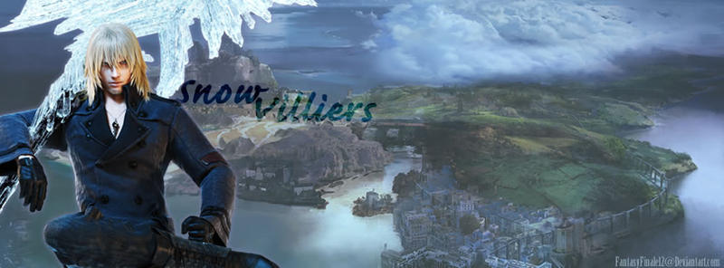 Snow Villiers FF XIII LR 3 by FantasyFinale12