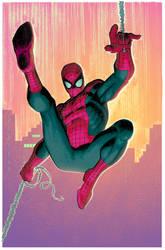 Spiderman by John Romita Jr. and Klaus Janson