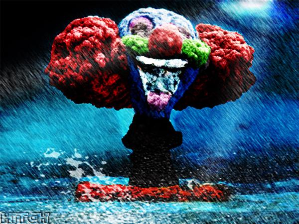 atomic clown by Hitch21 on DeviantArt