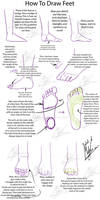 Tutorial - How to Draw Feet
