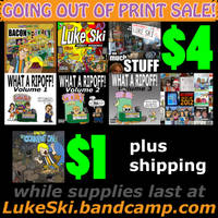 Going Out Of Print sale 2014 ad by artbylukeski