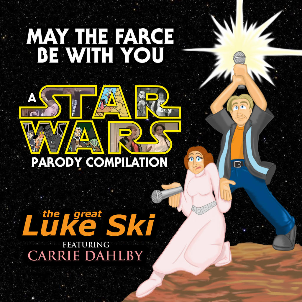 May The Farce Be With You - album cover by artbylukeski