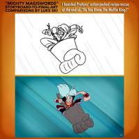 Mighty MagiSwords Storyboards - Recipe Rescue by artbylukeski