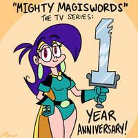Mighty MagiSwords 1 year anniversary by artbylukeski