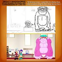 Mighty MagiSwords Storyboards - Biblia Tick by artbylukeski
