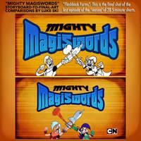 Mighty MagiSwords Storyboards - Final Shot 5-mins. by artbylukeski