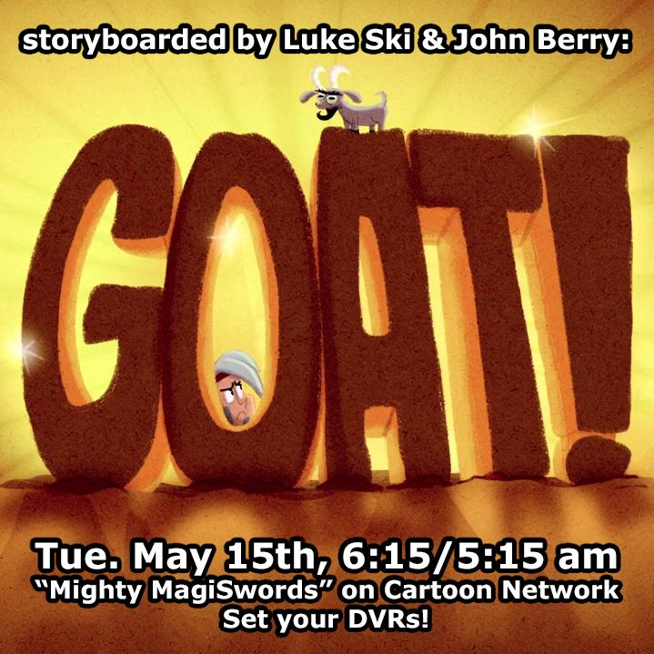 Mighty MagiSwords Goat promo by artbylukeski