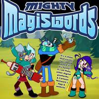 Mighty MagiSwords kitty promo full size by artbylukeski