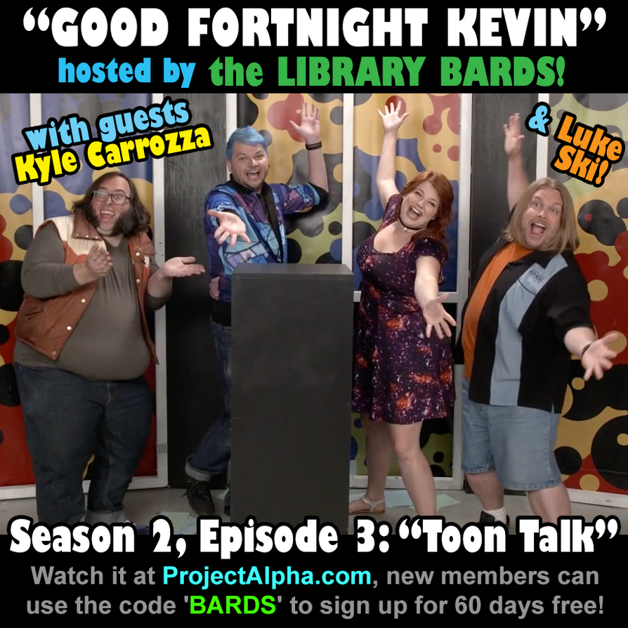 Good Fortnight Kevin promo by artbylukeski