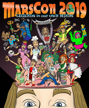 MarsCon 2019 Official T-shirt