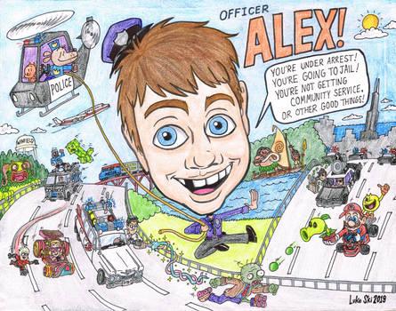 ALEX - 2019 caricature