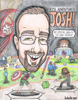JOSH - 2019 caricature