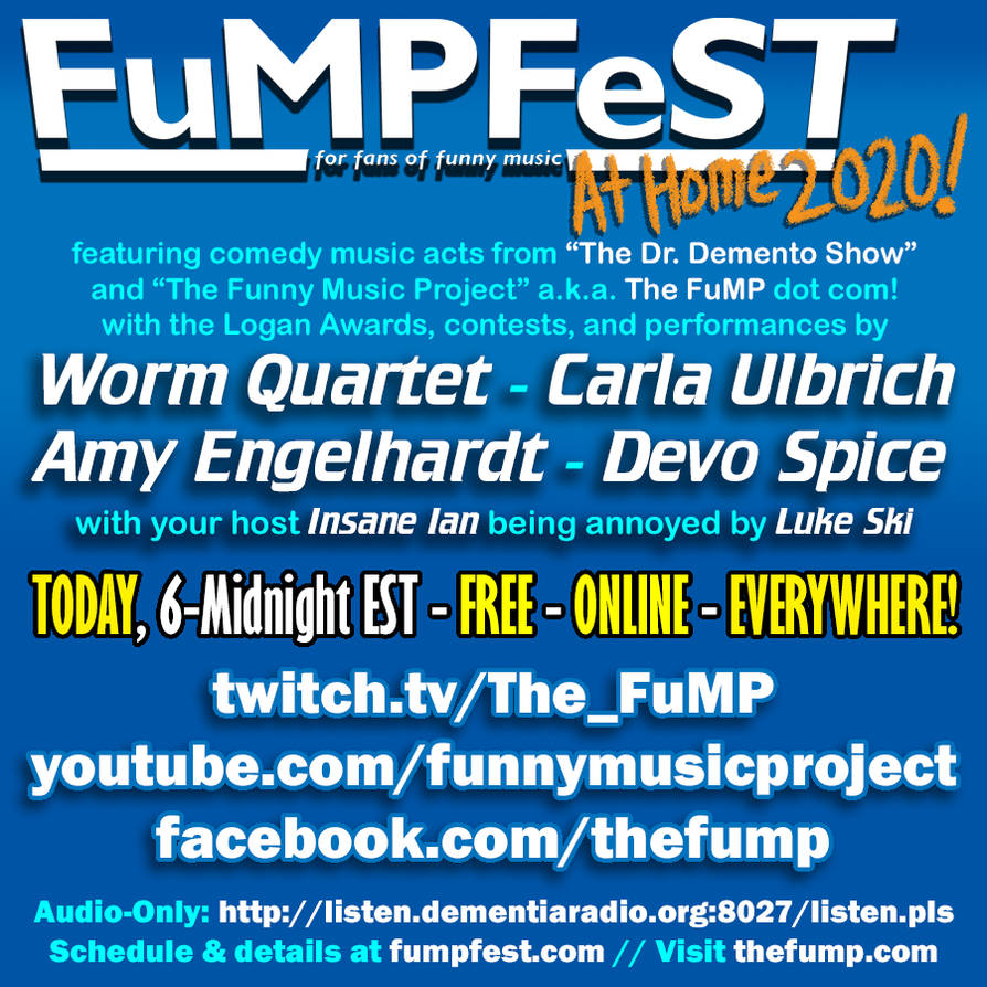 FuMPFeST at Home 2020 promo