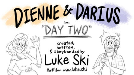 Dienne And Darius in Day Two title card