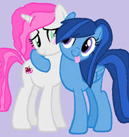 Lyric and Amy by ForTheLuvOfApplejack