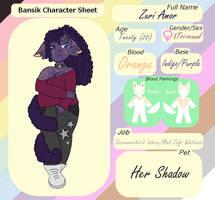 Zuri Amor Reference Sheet