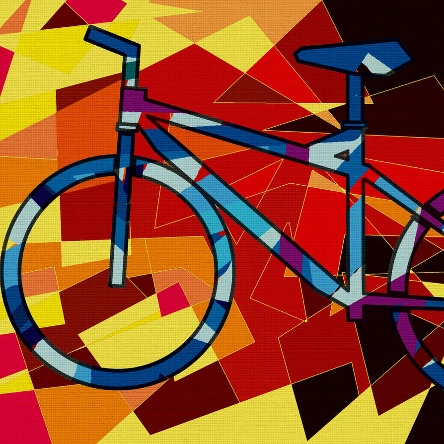 Bike And Cubism By Jagdverband44 On DeviantArt