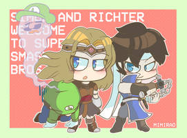 Simon, Richter and Luigi? by Mimirao