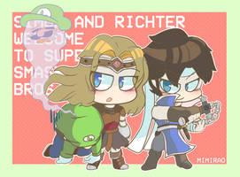 Simon, Richter and Luigi? by Shotaro-98
