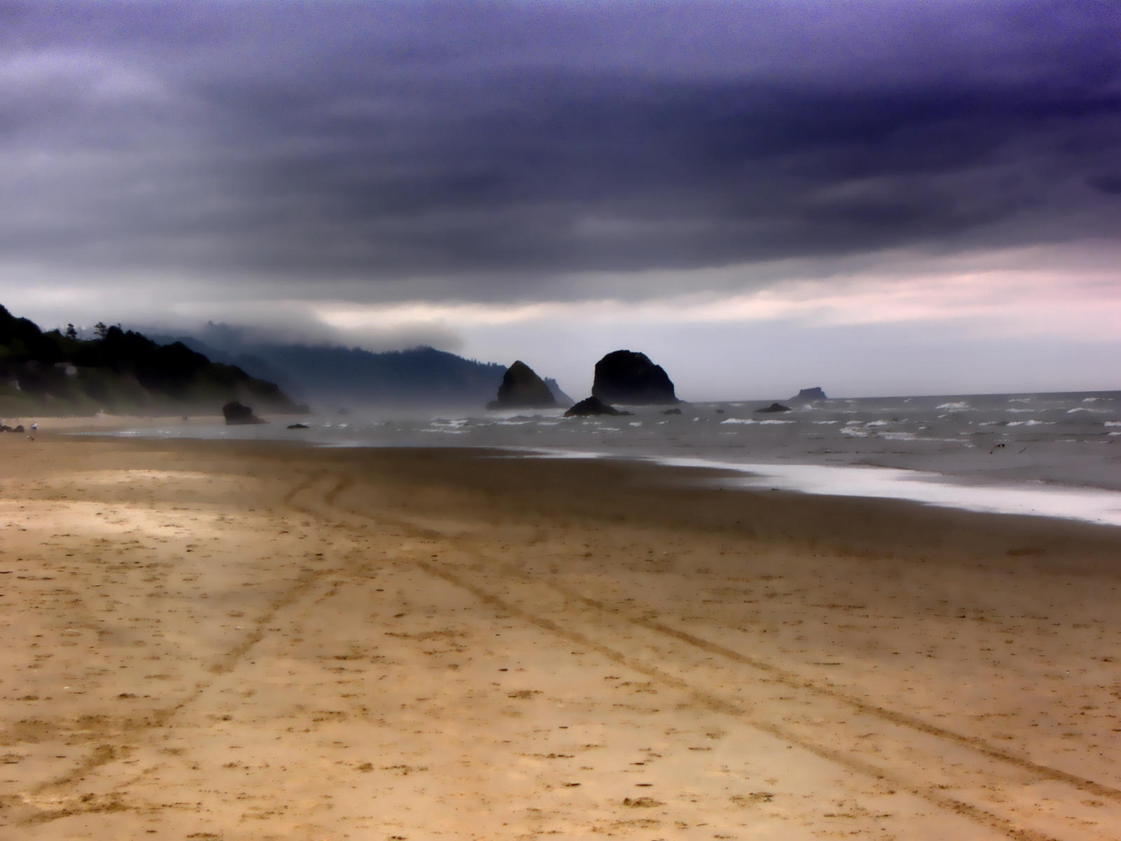 Stormy Beach Wallpaper: Stormy Beach By Sidneys1 On DeviantArt