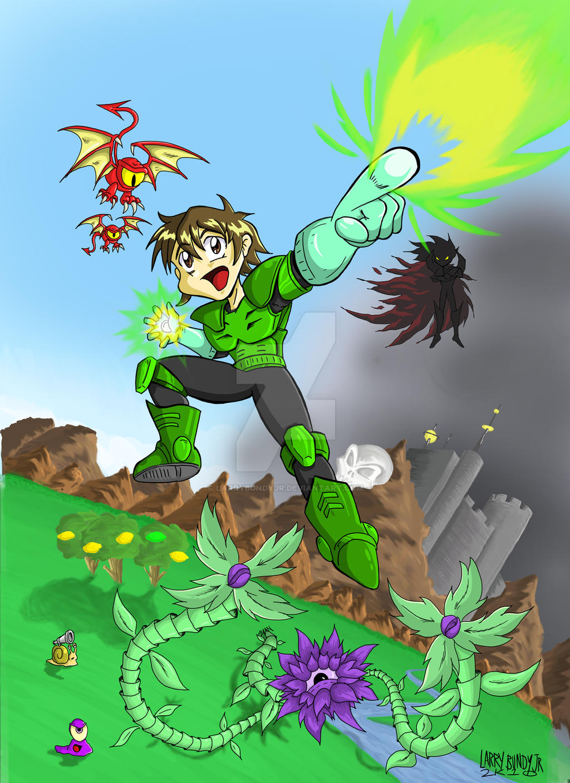 Battle Kid V1.100 Box Art by LarryBundyJr