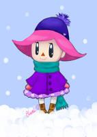 Winter Wonderland in Animal Crossing by Ouwah