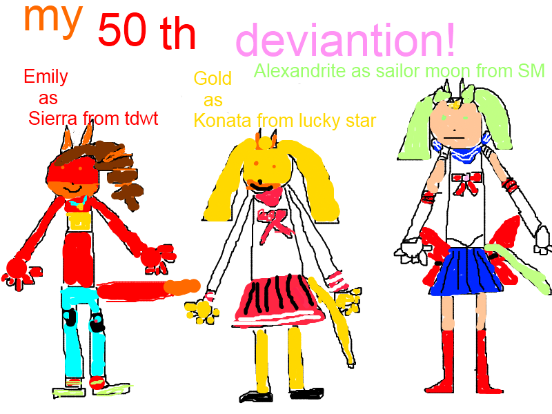 50th deviantion late cosplay by silversfavgirl