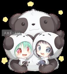 GP: Panda, panda, panda by Ake-ru