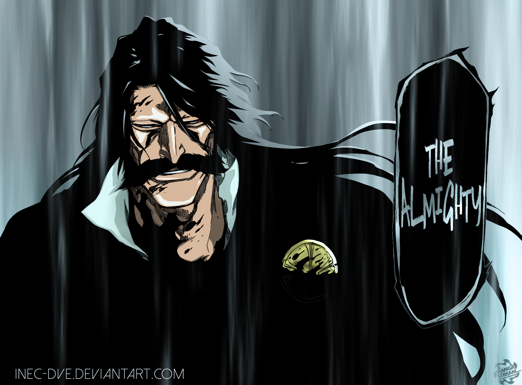 Bleach 609 The Almighty Yhwach By Inec Dve On Deviantart