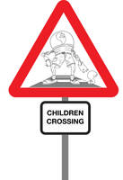 Children Crossing by PeterStringer