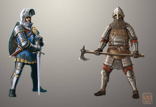 Knights concept