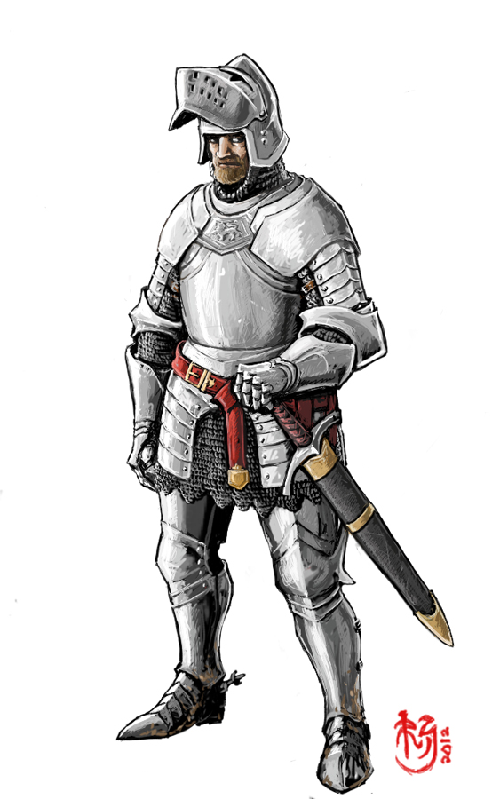Knight of Agatha by NeilBlade