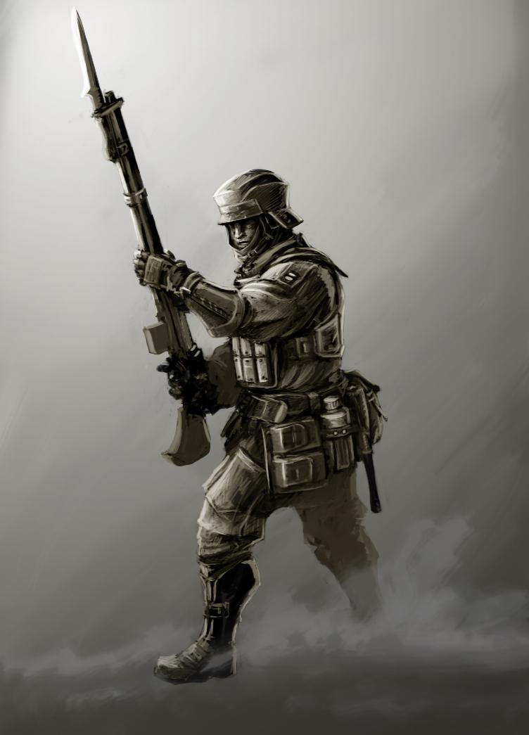 Sci Fi Armor Concept