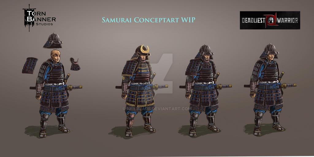 Samurai Concept by NeilBlade