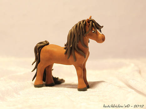 Horse in polymer clay