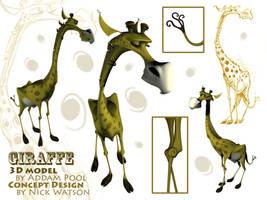 Giraffe Model by AddamPool