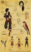 Character Design: Kira (Legend of Korra)
