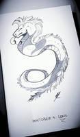 Inktober#5 Long by Ycraine