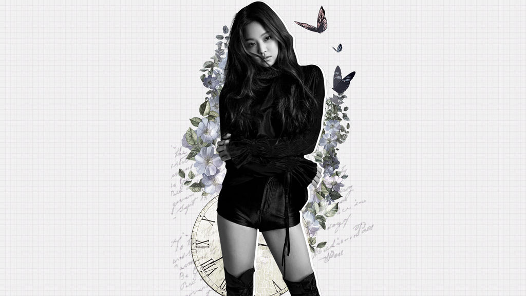 Blackpink Jennie Wallpaper By Uncontrolledeater On Deviantart
