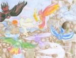 Elemental Phoenixes