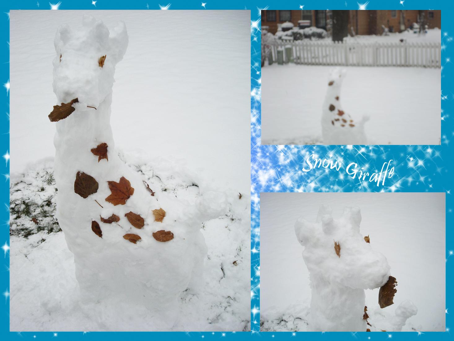 Snow Giraffe