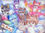 Fairy Foxes - For Bailey