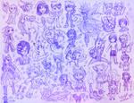Birthday Sketch Requests 2015