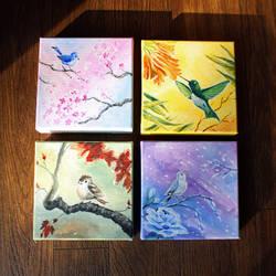 Seasonal Birdies