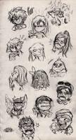 Expression Doodles